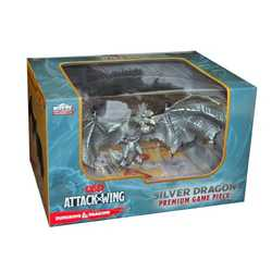 Dungeons & Dragons Attack Wing: Silver Dragon, Premium Game Piece