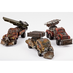 Resistance Storm Wagons/ Thunder Wagons