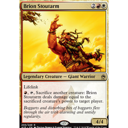 Magic löskort: Masters 25: Brion Stoutarm