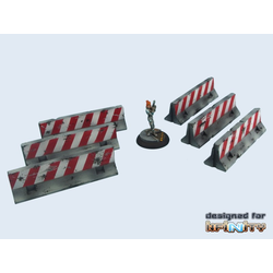 Scenery: Road Barriers (6)
