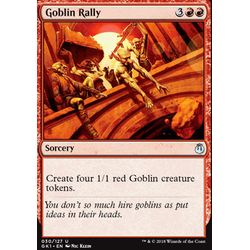 Magic löskort: Guild Kits: Goblin Rally