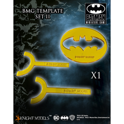 Batman Miniature Game: Template Set II