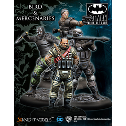 Batman Miniature Game: Bird and Mercs Crew Set