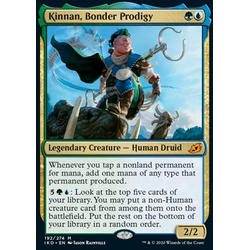 Magic löskort: Ikoria: Lair of Behemoths: Kinnan, Bonder Prodigy