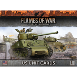 Flames of War: Armies Of Late War: US Unit Cards