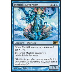 Magic Löskort: Core Set 2011 (M11): Merfolk Sovereign