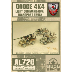 Allies LRDG Dodge Command / Phaser Truck