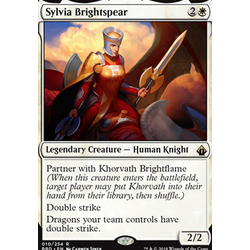 Magic löskort: Battlebond: Sylvia Brightspear
