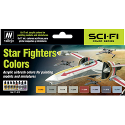Vallejo Paint Set Star Fighters Colors