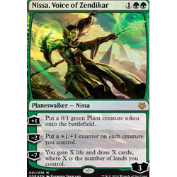 Magic löskort: Duel Decks: Nissa vs Ob Nixilis: Nissa, Voice of Zendikar (Foil)