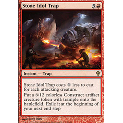 Magic löskort: Worldwake: Stone Idol Trap