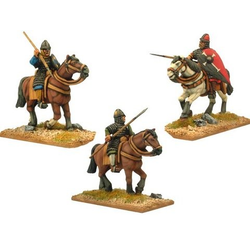 Norman Knights in Scale with Spears (3)