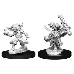 Pathfinder Deep Cuts (Unpainted): Male Goblin Alchemist