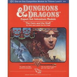 D&D: O1, Gem and the Staff (1983)