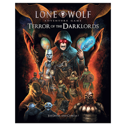 Lone Wolf Adventure Game: Terror of the Darklords (CB7)