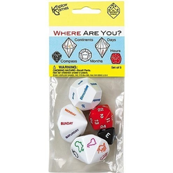 Where Are You? - Dice Set