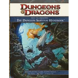 D&D 4.0: Into the Unknown - The Dungeon Survival Handbook
