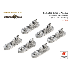 Federated States of America Revere Class Corvettes (6)