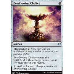 Magic löskort: Commander Anthology 2018: Everflowing Chalice