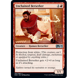 Magic löskort: Core Set 2020: Unchained Berserker