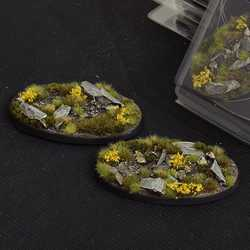 Battle Ready Bases - Highland 90mm Oval (2)