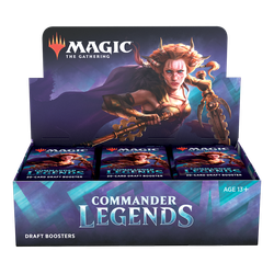 Magic The Gathering: Commander Legends Draft Booster Display (24)