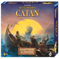 Settlers från Catan: Äventyrare & Pirater (expansion, sv. regler)