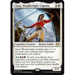 Magic löskort: Modern Horizons: Sisay, Weatherlight Captain