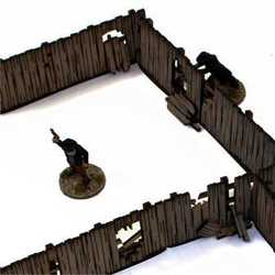 28mm Dead Mans Hand Yard Panel Fencing