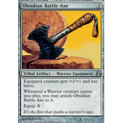Magic Löskort: Morningtide: Obsidian Battle-Axe