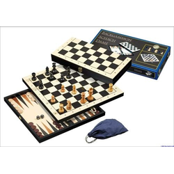 Set Chess-Backgammon-Checkers
