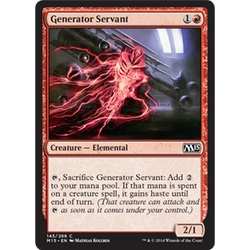 Magic löskort: M15: Generator Servant (foil)