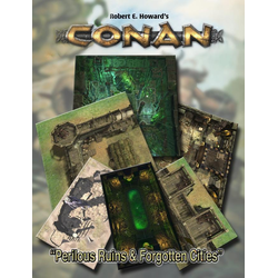 Conan RPG: Perilous Ruins & Forgotten Cities Geomorphic Tiles Set