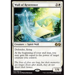 Magic löskort: Ultimate Masters: Wall of Reverence