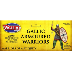 Victrix 28mm Ancient Gallic Armoured Warriors