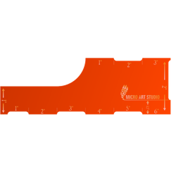 "Move Template 6"" Orange"