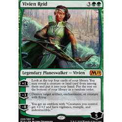 Magic löskort: Core Set 2019: Vivien Reid