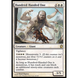 Magic löskort: Theros: Hundred-Handed One