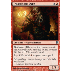 Magic löskort: Conspiracy: Treasonous Ogre
