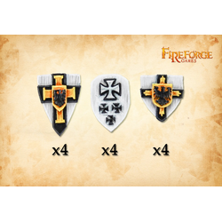 Fireforge: Teutonic Knights shields