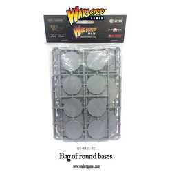 Warlord Games: Bag of Round Bases (45)