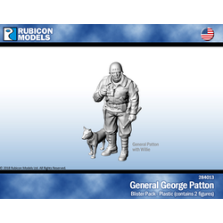Rubicon: US General George Patton with Willie
