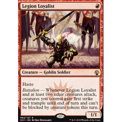 Magic löskort: Guild Kits: Legion Loyalist