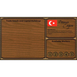 Empires: Age of Discovery Ottoman Player Board