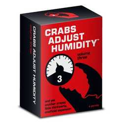 Cards Against Humanity: Crabs Adjust Humidity vol 3