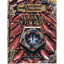 D&D 3.0: Monster Compendium: Monsters of Faerûn