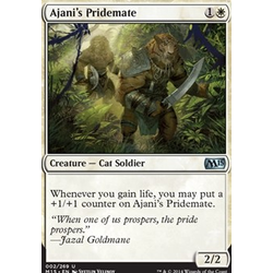 Magic löskort: M15: Ajani's Pridemate