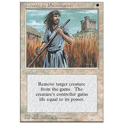 Magic löskort: 4th Edition: Swords to Plowshares