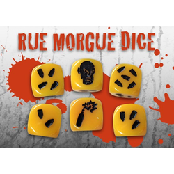 Zombicide: Dice (yellow)