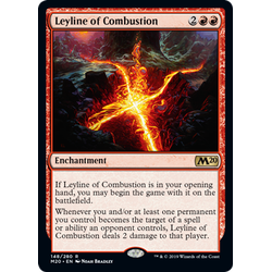 Magic löskort: Core Set 2020: Leyline of Combustion